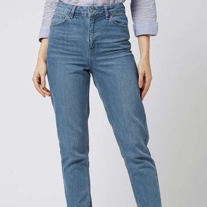 Topshop Moto Tall Mom Jeans